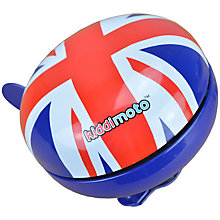 Buy Kiddimoto Union Jack Bell, Small Online at johnlewis.com