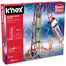 Buy K'Nex Electric Inferno Roller Coaster Building Set Online at johnlewis.com
