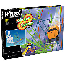 Buy K'Nex Infinite Journey Roller Coaster Building Set Online at johnlewis.com