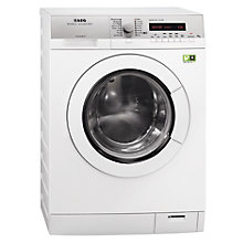 Buy AEG L79495FL Freestanding Washing Machine, 9kg Load,  A+++ Energy Rating, 1400rpm Spin, White Online at johnlewis.com