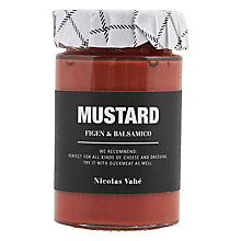 Buy Nicolas Vahe Fig & Balsamic Mustard, 190g Online at johnlewis.com