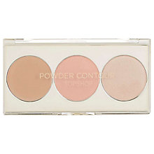 Buy TOPSHOP Limited Edition Powder Contour Palette, Hush Online at johnlewis.com