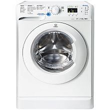 Buy Indesit XWA81482XW Freestanding Washing Machine, 8kg Load, A++ Energy Rating, 1400rpm Spin, White Online at johnlewis.com