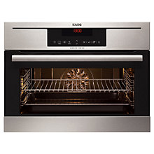 Buy AEG KP8404021M Built-In Single Oven, Stainless Steel Online at johnlewis.com