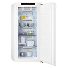 Buy AEG AGN71200C1 Integrated Freezer, A+ Energy Rating, 56cm Wide Online at johnlewis.com