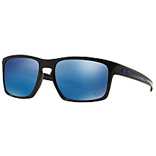 Buy Oakley OO9262 Sliver Rectangular Sunglasses Online at johnlewis.com