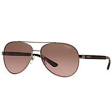 Buy Vogue VO3997S Aviator Sunglasses Online at johnlewis.com