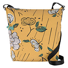 Buy Radley Floristics Medium Across Body Bag, Yellow Online at johnlewis.com