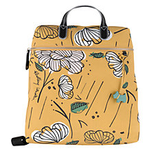 Buy Radley Floristics Medium Backpack, Yellow Online at johnlewis.com
