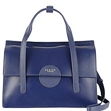 Buy Radley Elms Leather Grab Bag Online at johnlewis.com