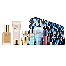 Buy Estée Lauder Double Wear Stay in Place Makeup Desert Beige, 30ml and Matte Perfecting Primer, 30ml with Your Gift Our Treat Online at johnlewis.com