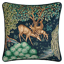 Buy Morris & Co The Brook Cushion, Multi Online at johnlewis.com
