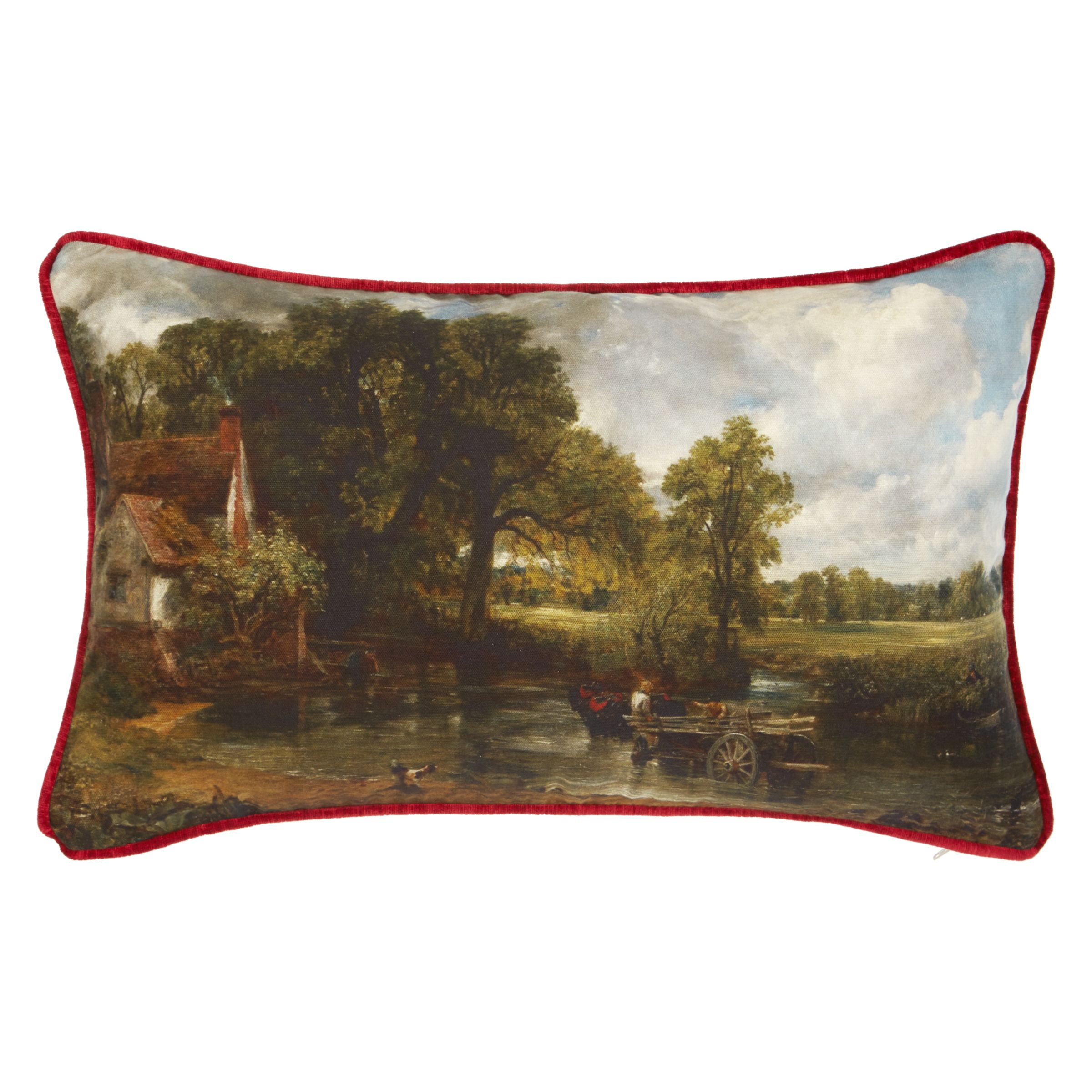 Andrew Martin Andrew Martin National Gallery Constable's The Hay Wain Cushion
