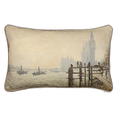 Image of Andrew Martin National Gallery Monet's The Thames below Westminster Cushion