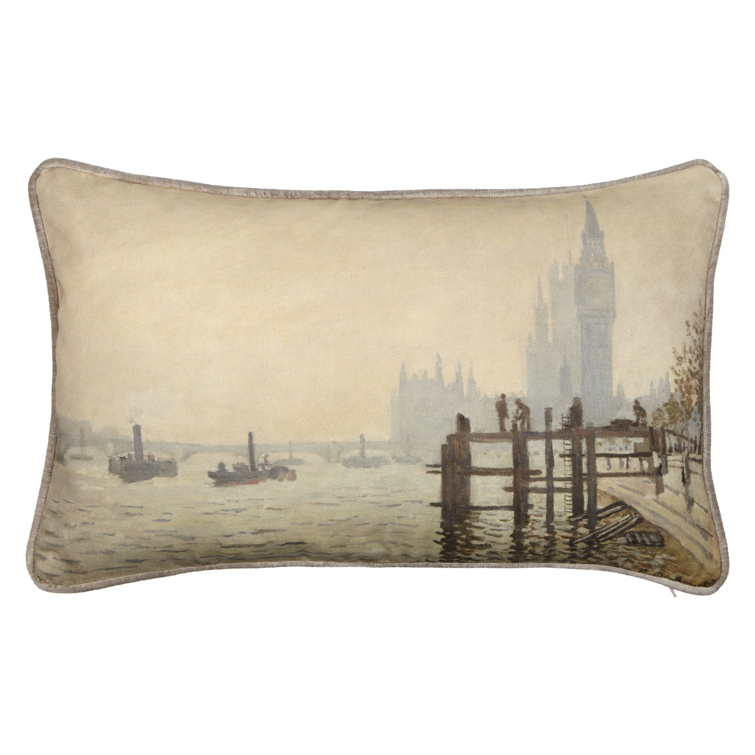 Andrew Martin Andrew Martin National Gallery Monet's The Thames below Westminster Cushion