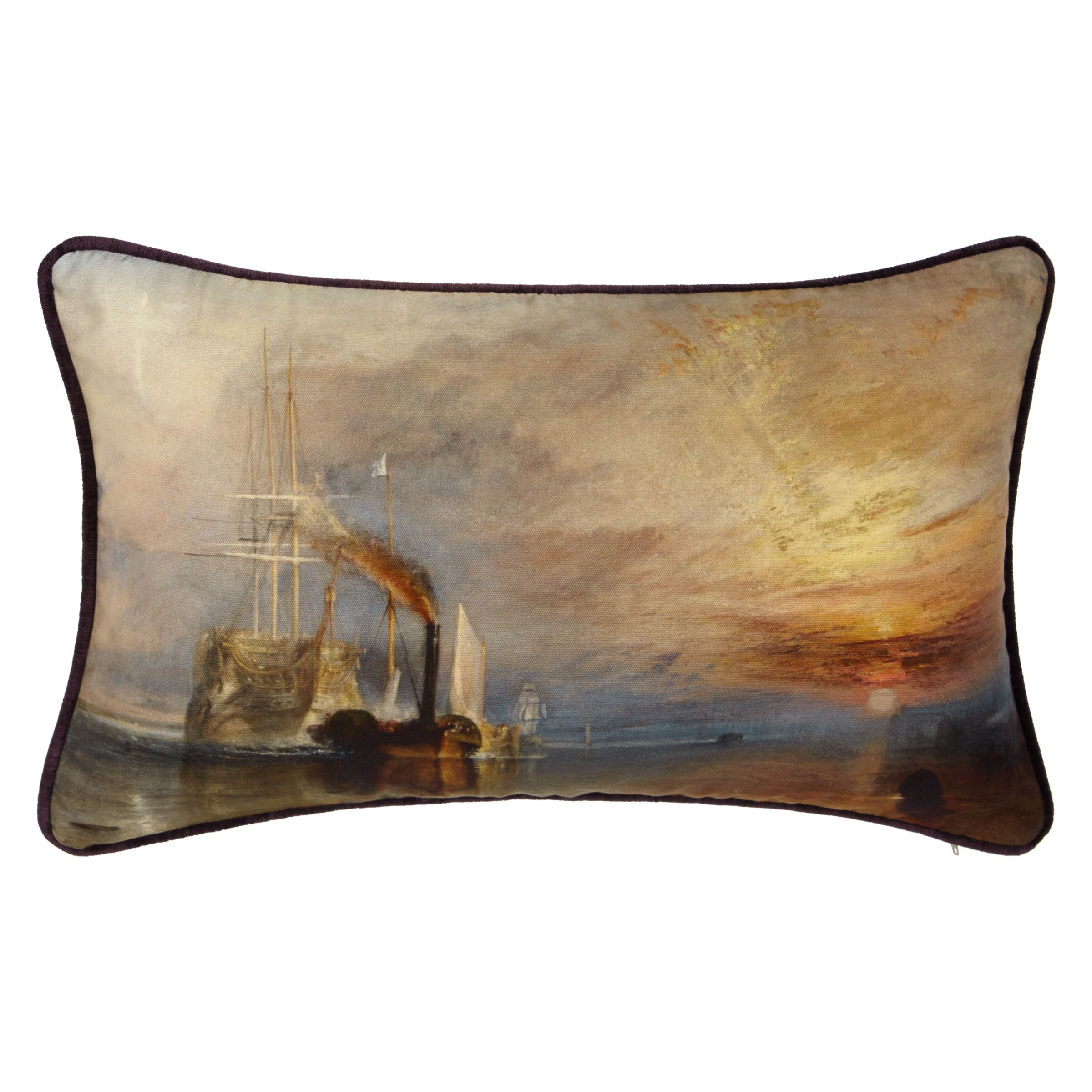 Andrew Martin Andrew Martin National Gallery Turner's The Fighting Temeraire Cushion