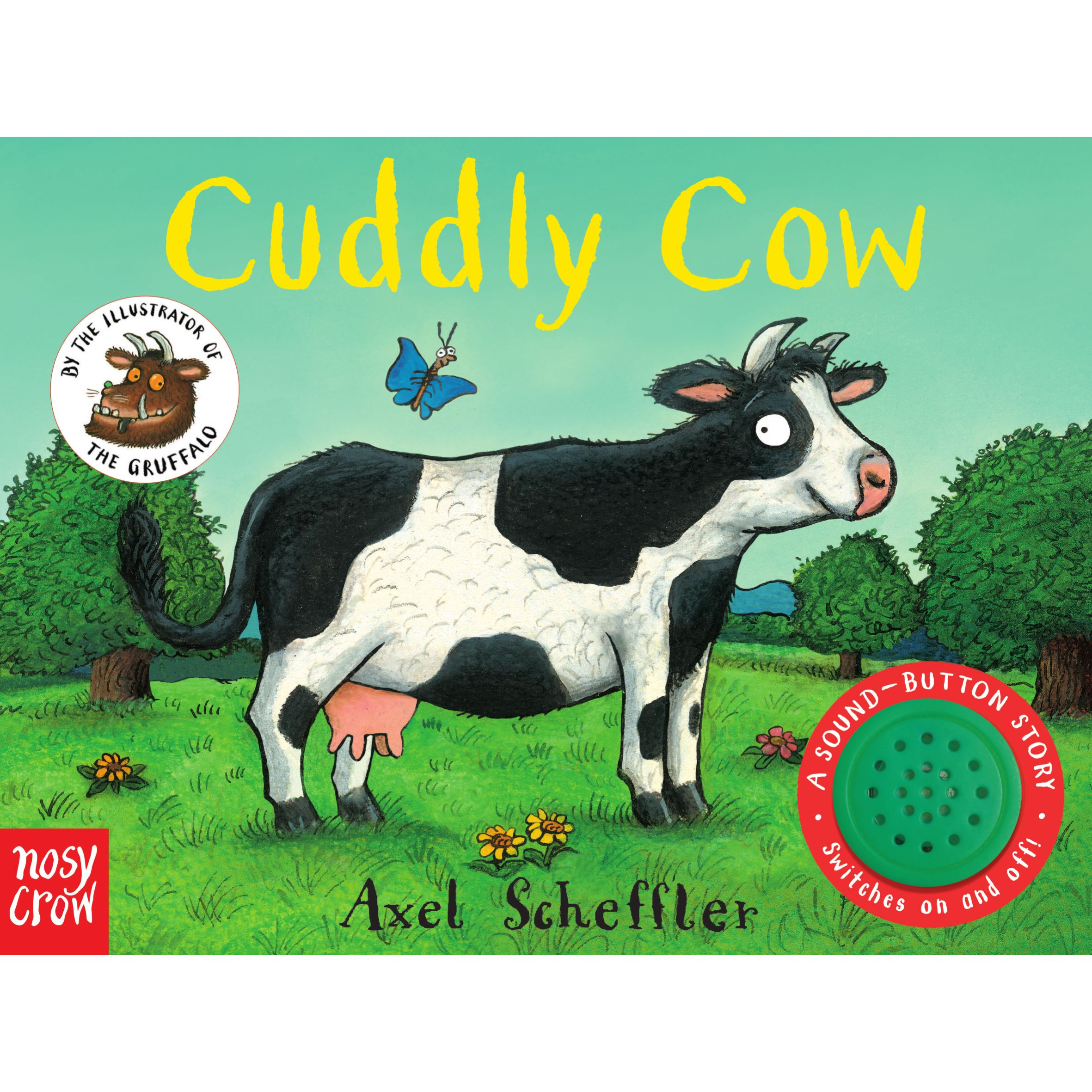 Nosy Crow Cuddly Cow Children's Book