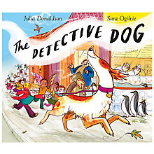 Buy The Detective Dog Children's Book Online at johnlewis.com