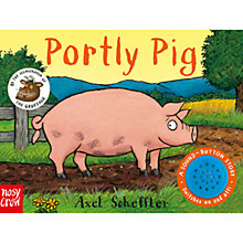 Buy Portly Pig Children's Book Online at johnlewis.com