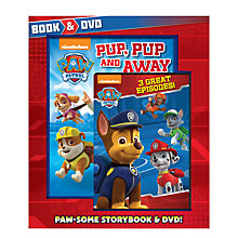 Buy Paw Patrol Book & DVD Online at johnlewis.com