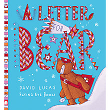 Buy A Letter For Bear Children's Book Online at johnlewis.com