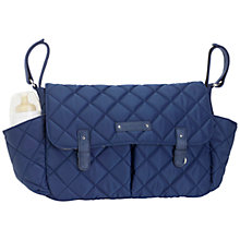 Buy Storksak Quilted Caddy Organiser Changing Bag Online at johnlewis.com