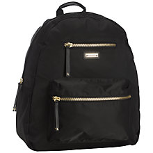 Buy Storksak Charlie Backpack Changing Bag, Black Online at johnlewis.com