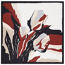 Buy Hobbs Jessica Silk Scarf, Multi Online at johnlewis.com