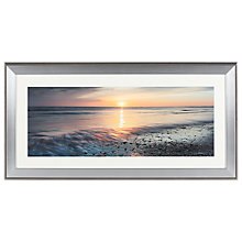Buy Mike Shepherd Embellished Ebb & Flow Framed Print, 110 x 55cm Online at johnlewis.com