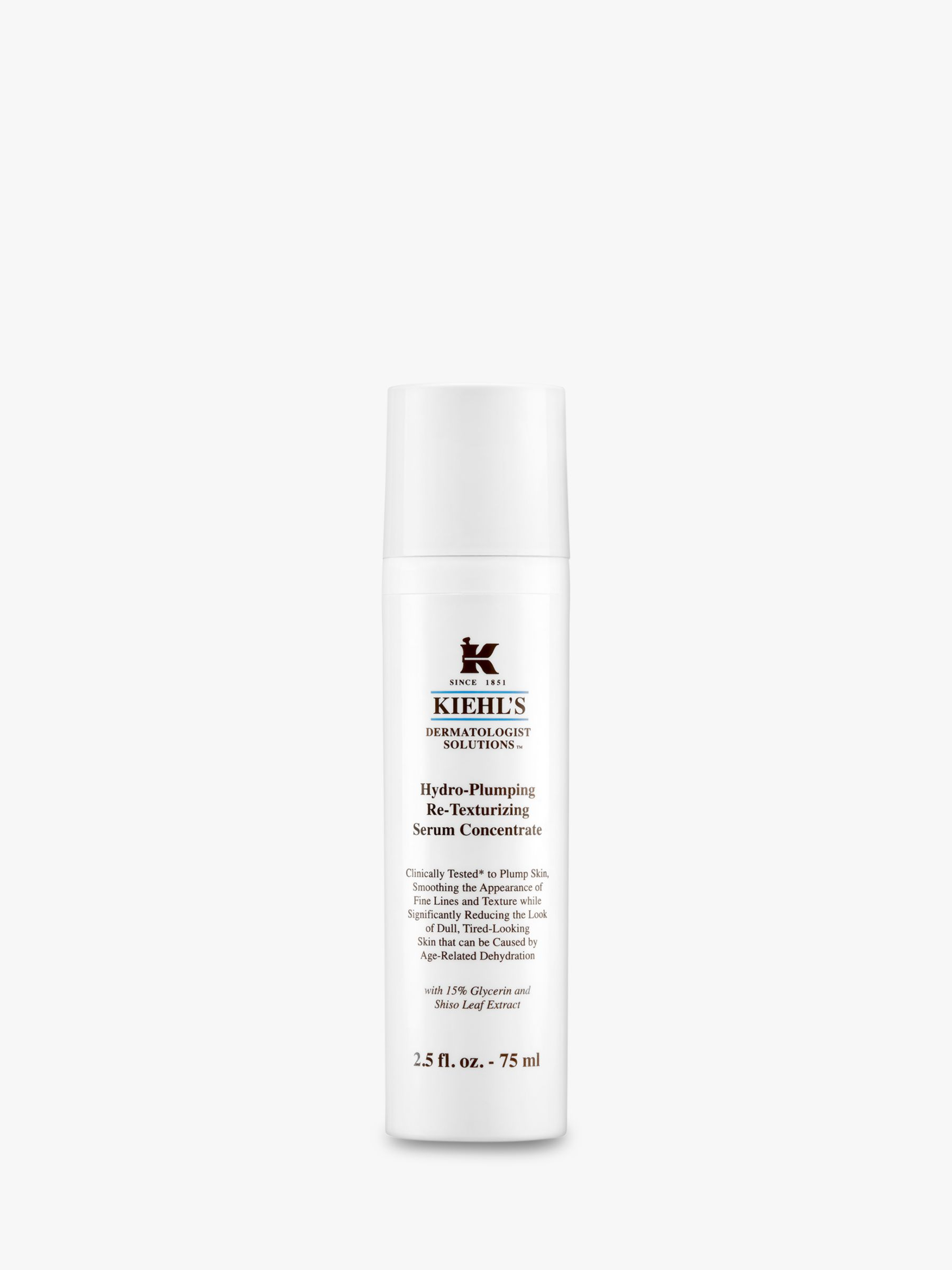 Kiehls Kiehl's Hydro Plumping Re-Texturising Serum Concentrate