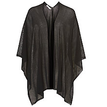 Buy Betty & Co. Fine Knit Wrap, Black Online at johnlewis.com