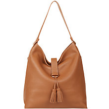 Buy Hobbs Highgate Hobo Bag, Tan Online at johnlewis.com