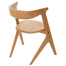 Buy Tom Dixon Slab Dining Chair, Oak Online at johnlewis.com