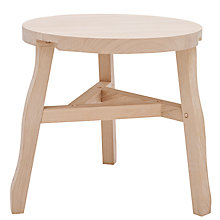 Buy Tom Dixon Offcut Side Table, Soaped Oak Online at johnlewis.com