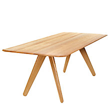 Buy Tom Dixon Slab Dining Table, Oak Online at johnlewis.com
