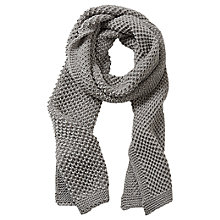 Buy Betty Barclay Long Scarf, Dark Grey Melange Online at johnlewis.com