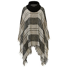 Buy Betty Barclay Fringed Blanket Poncho, Taupe/Beige Online at johnlewis.com