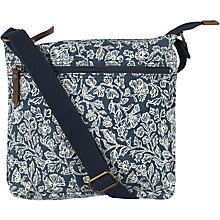 Buy Fat Face Bali Mono Washed Canvas Cross Body Bag, Navy Online at johnlewis.com