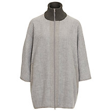 Buy Betty Barclay Kimono Coat, Grey Online at johnlewis.com