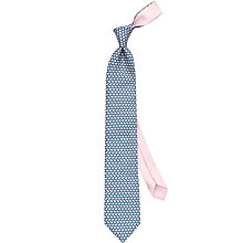 Buy Thomas Pink Whale Print Silk Tie Online at johnlewis.com
