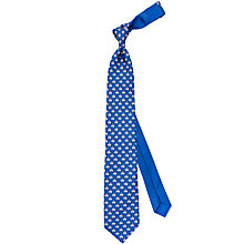 Buy Thomas Pink Elephant and Castle Print Silk Tie Online at johnlewis.com