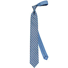 Buy Thomas Pink Multi Elephant Print Silk Tie, Blue/Multi Online at johnlewis.com