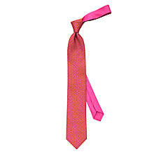 Buy Thomas Pink Squirrel Print Silk Tie Online at johnlewis.com