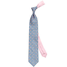 Buy Thomas Pink Elephant Family Print Silk Tie Online at johnlewis.com
