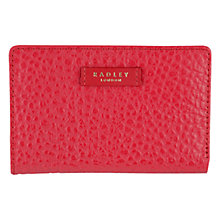 Buy Radley Abbey Leather Medium Zip Purse Online at johnlewis.com