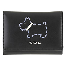 Buy Radley In Stitches Leather Small Tri-Purse, Black Online at johnlewis.com