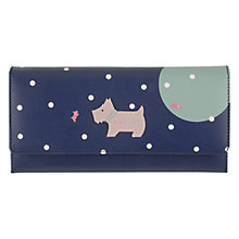 Buy Radley Over The Moon Leather Large Purse, Navy Online at johnlewis.com