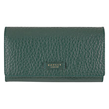 Buy Radley Abbey Leather Large Flapover Purse Online at johnlewis.com
