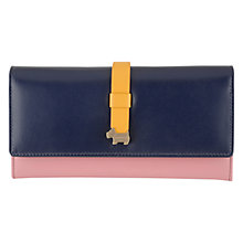 Buy Radley Hamilton Flap-Over Purse, Navy Online at johnlewis.com