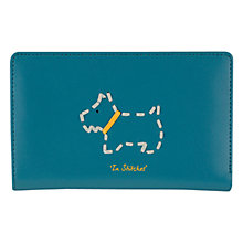 Buy Radley In Stitches Leather Medium Purse, Blue Online at johnlewis.com
